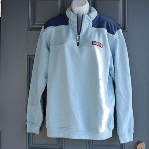 * Blue/Navy Vineyard Vines Shep Shirt Sz. M